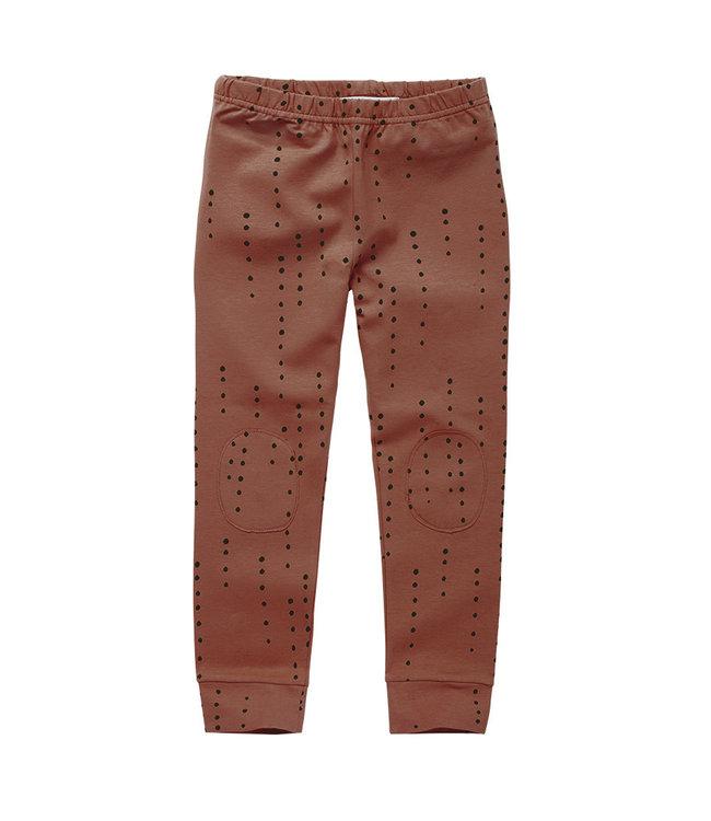 Legging Dewdrops Brunished Leather