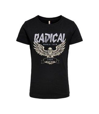 KIDS ONLY KONASTA T-shirt 15246287 Black