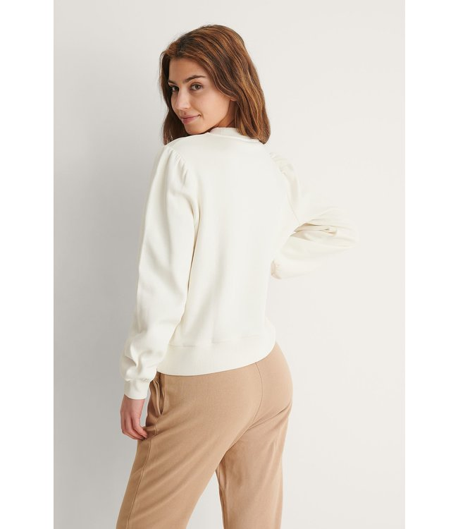 Puff sleeve sweater 1018-007515 offwhite