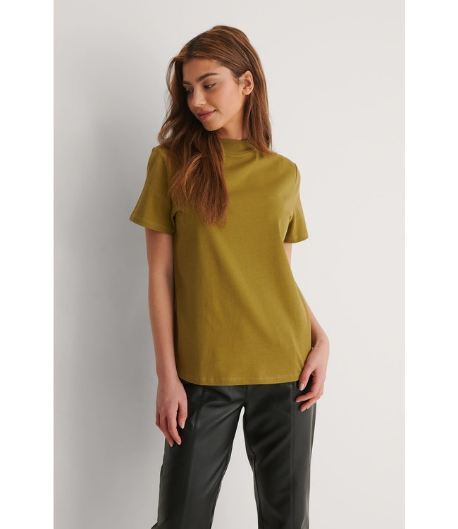 High neck t-shirt 1100-004500 green
