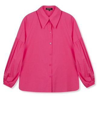 REFINED VICKY poplin blouse - pink