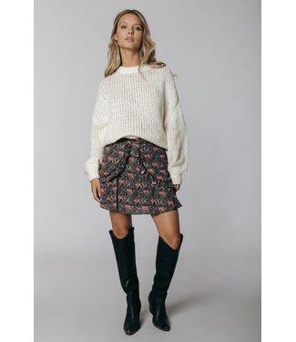 Colourful Rebel Olivia Crew Neck Sweater - Off white