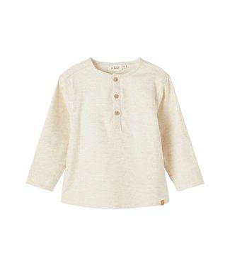 Lil Atelier NMMRUDOLF Boxy blouse 13197042 - Peyote