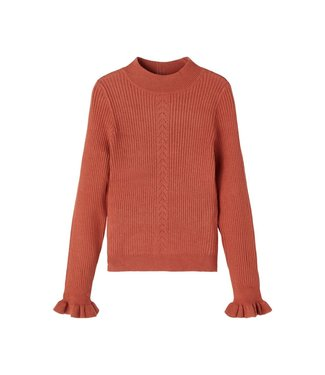 name it NKFONICOLLE Knit  13192994 Etruscan Red