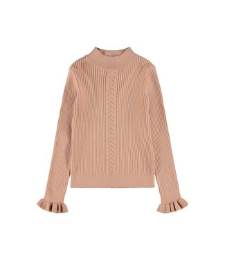 name it NKFONICOLLE Knit  13192994 Cafe Au Lait