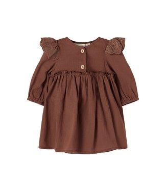 Lil Atelier NBFSOLANGE Dress 13196775 Chestnut