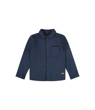 name it NMMROLLF Jersey blouse 13196050 Dark Sapphire