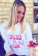Sweater ' BLAH BLAH BLAH'