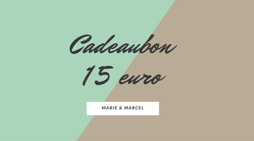 Cadeaubon 15