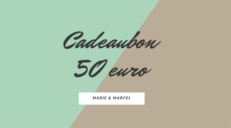 Cadeaubon 50