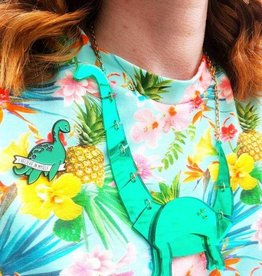 Tricot t-shirt 'Tropical Breeze'
