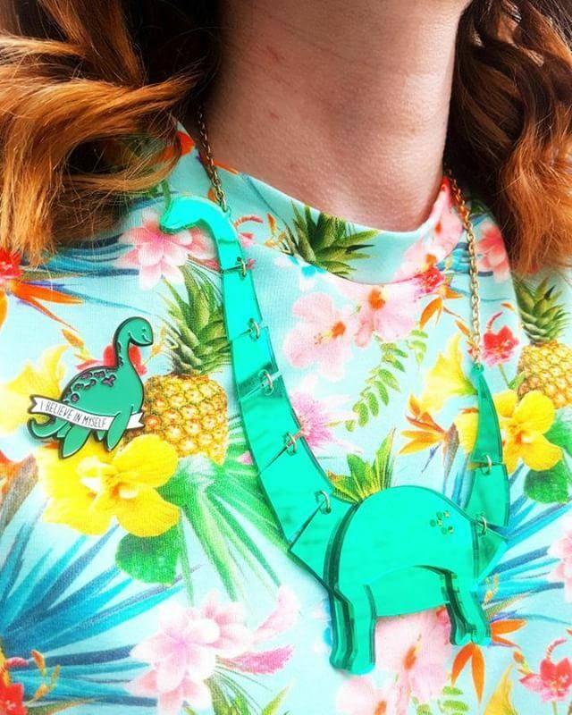 Tricot t-shirt 'Tropical Breeze'
