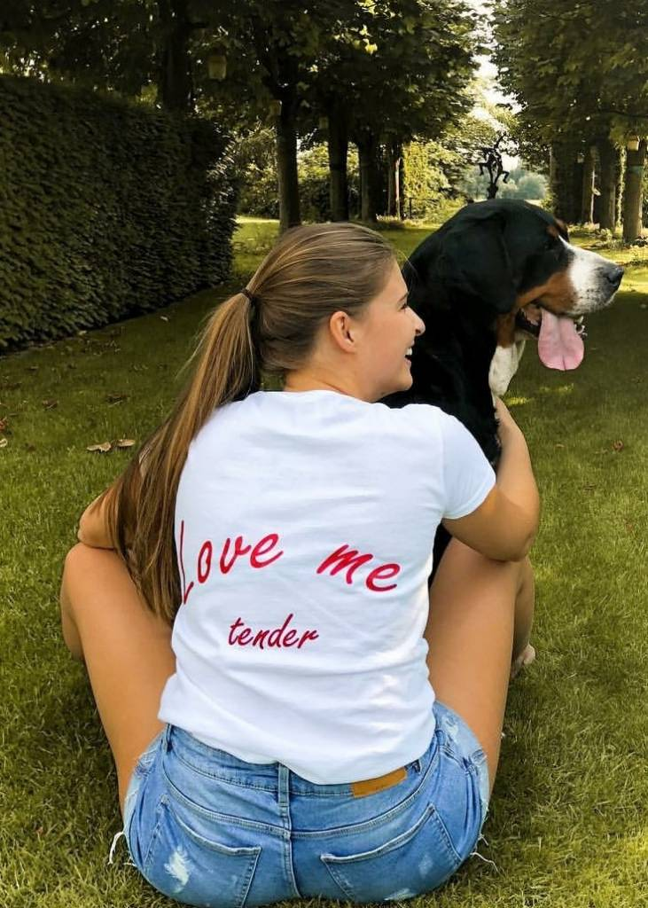 T-shirt Love me Tender