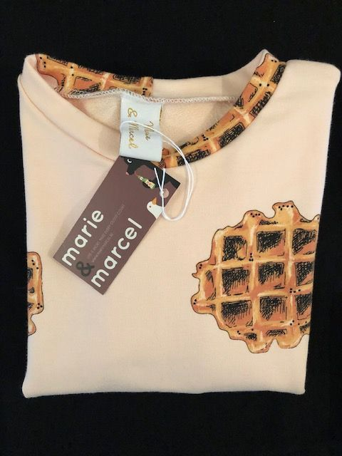 Tricot sweater 'Waffles'
