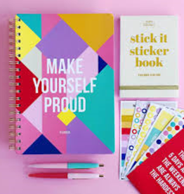 Planner 'Make yourself proud'