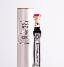 Acetaia GOCCE | Condimento Balsamico di Modena aged 10 years (40 ml in gift box)
