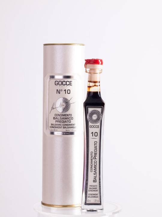 Acetaia GOCCE | Italy Acetaia GOCCE | Condimento Balsamico di Modena aged 10 years (40 ml in gift box)