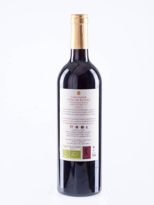 Guido Gualandi | Italy | Tuscany Guido Gualandi | Vino Archeologico | Vinum Rosso 2012 | Rosso di Toscana  I.G.T