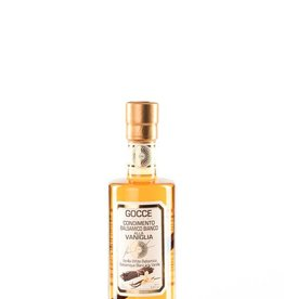 Acetaia GOCCE | with Vanilla Infused White Balsamic Condiment | Vaniglia