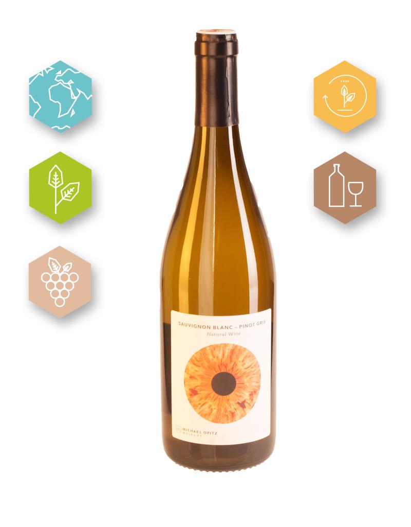 Michael Opitz | Austria | Burgenland Michael Opitz | Rough Sauvignon Blanc | Pinot Blanc | Natural wine | 2017 | Östenreichischer Qualitätswein