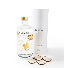 Clover Gins Clover Gin | Lucky Nº 4 | A golden taste | 500 ml | 44º | Gift Box & Coasters  included