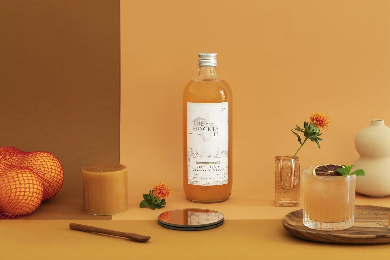 The Mocktail Club Green Tea & Orange Blossom | The Mocktail Club | 1000ml |  0º | Flanders | Belgium