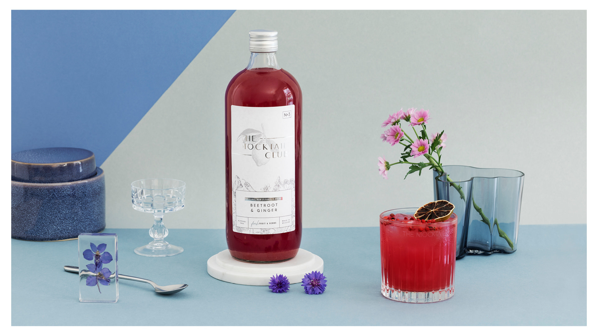 The Mocktail Club Raspberry & Lavender   Nr 6    The Mocktail Club   1000ml    0º   Flanders   Belgium