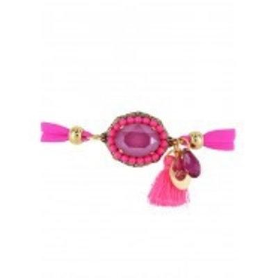 Godly Jewels Bracelet Classic Peony Pink