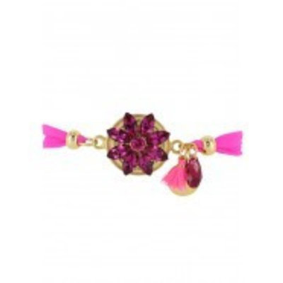 Godly Jewels Bracelet Flower ''Hotter Than You Pink''