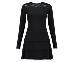 Black Flare Jaimymode nl Luna Dress Nikkie 7vfgyYb6