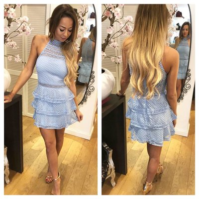 Jaimy Maria dress BABY BLUE