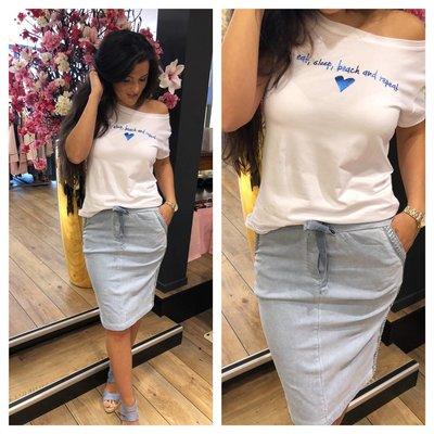 Jaimy Jeans comfy skirt