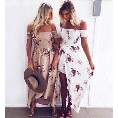 Jaimy Marbella dress white