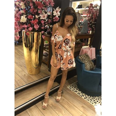 Jaimy Curacao jumpsuit blush