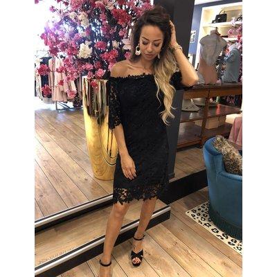 Jaimy Fake love dress black