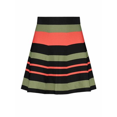NIKKIE Skylar skirt multi stripe