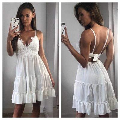 Jaimy London dress white