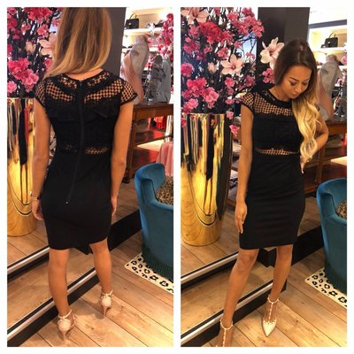 Jaimy Papagayo dress black