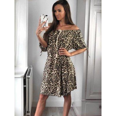 Jaimy Saint travel Leopard Dress