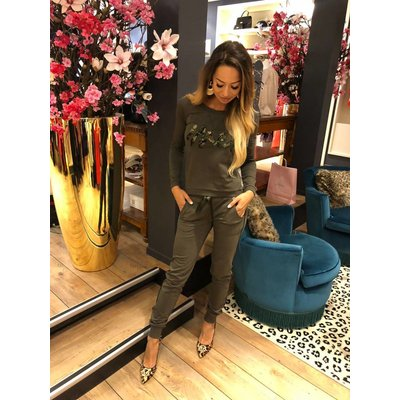 MET Jeans Nora pants  428 army green