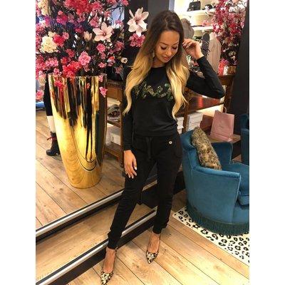 MET Jeans Girocol sweater black