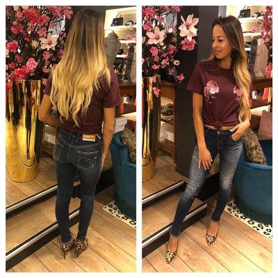 MET Jeans X Melissa diamond