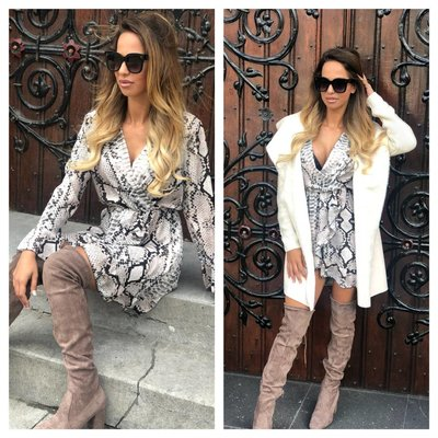 Jaimy Conquer the world overknee boots beige