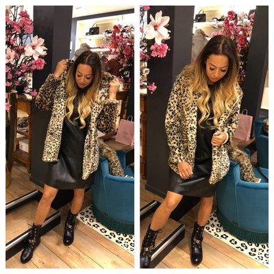 Jaimy Leopard hoodie