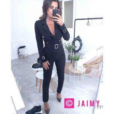 Jaimy Fashion X jumpsuit black