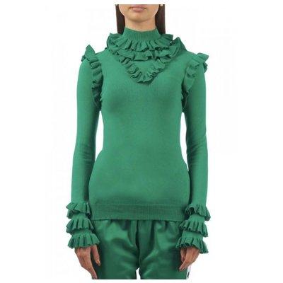 Reinders Marie ruffle ultramarine green
