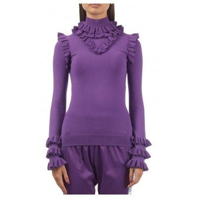 Reinders Marie ruffle amaranth purple