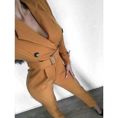 Jaimy Fashion X jumpsuit ocre