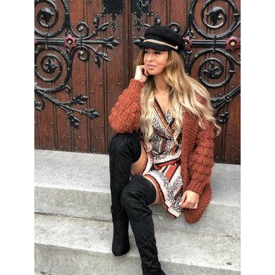 Jaimy Blogger cardigan camel
