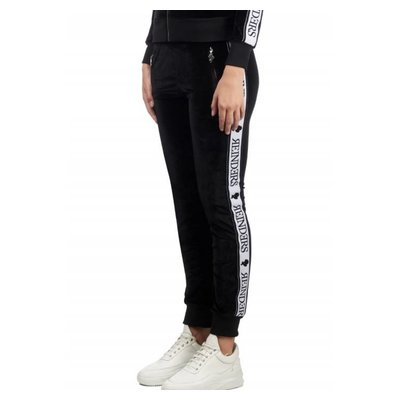 Reinders Tracking pants velvet black